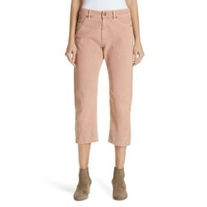 NEW The Great Rambler Pink Corduroy Cropped Pants